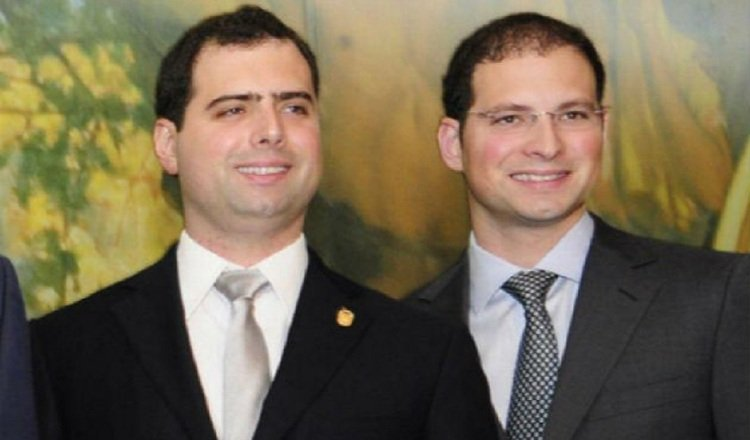 Diputados del Parlacen, Luis Enrique y Ricardo Alberto Martinelli Linares, detenidos ilegalmente. Archivo