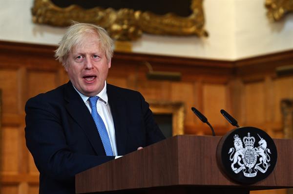 El primer ministro británico, Boris Johnson. EFE
