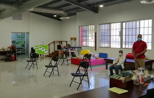 Dentro del Centro Reintegra Club Activo 20-30 se dispensarán los servicios de medicina general, laboratorio, farmacia, enfermería, vacunación, pediatría y fisioterapia entre otros. Foto: Eric Montenegro
