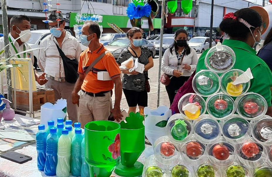 Esta primera Feria Ambiental tuvo como propósito la conservación del ambiente natural y su entorno