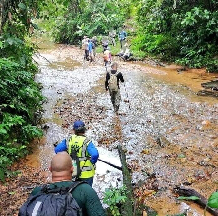 La muerte del minero ocurrió en el distrito de Santa Isabel, en la Costa Arriba de Colón. Foto: Diómedes Sánchez