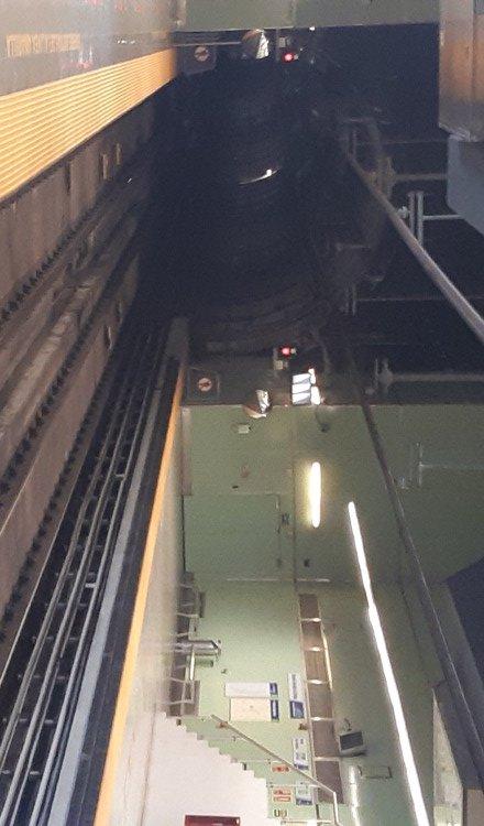 La profundidad del túnel de la Línea 3 será el doble del construido para la Línea 1 del metro. ArchivoLa profundidad del túnel de la Línea 3 será el doble del construido para la Línea 1 del metro. Archivo