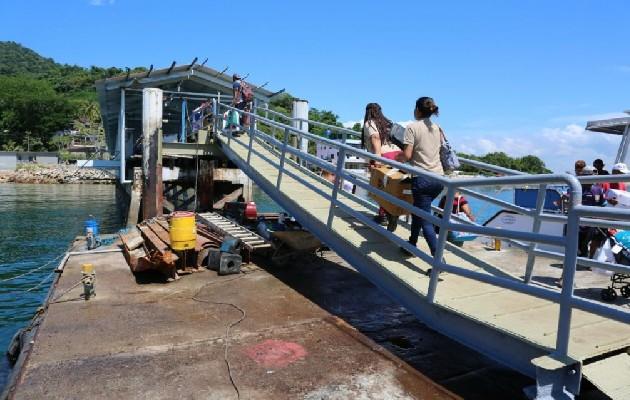 Termina trabajos de rehabilitación del muelle de Taboga. Foto: Archivo