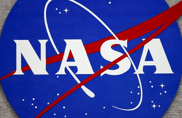 Imagen del logo de la NASA. Foto: EFE