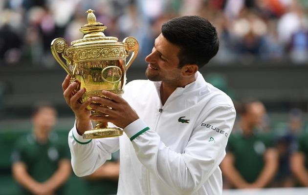 Novak Djokovic destacó la perseverancia como la clave de su éxito. Foto: EFE