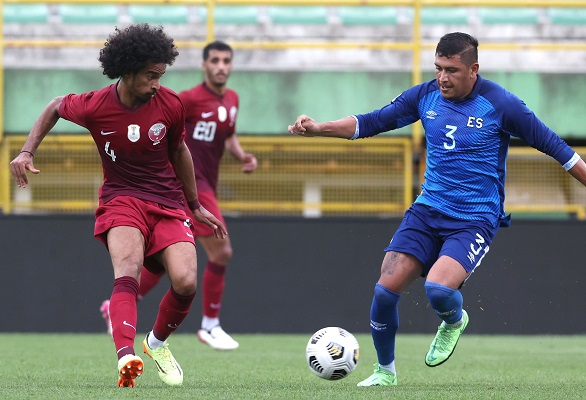 Catar realizó un amistoso contra El Salvador. Foto:Fepafut