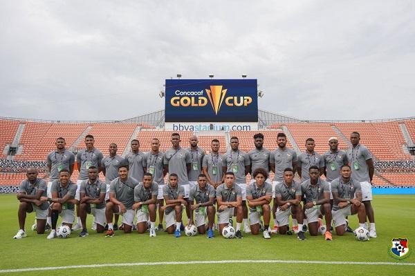 Plantilla de Panamá en Copa Oro: Foto:Fepafut