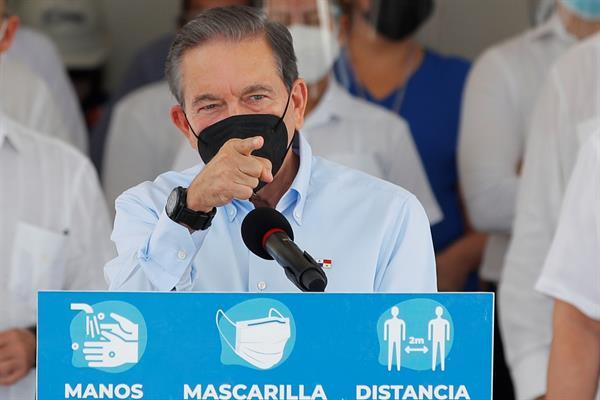 El presidente de Panamá, Laurentino Cortizo. EFE