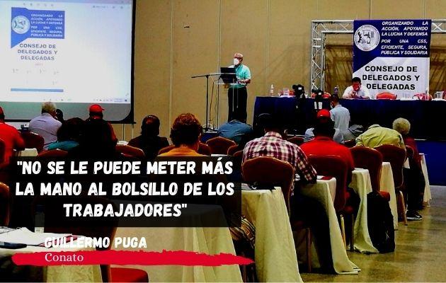 Trabajadores exigen apoyo técnico de la Organización Internacional de Trabajo (OIT). Foto: Archivos