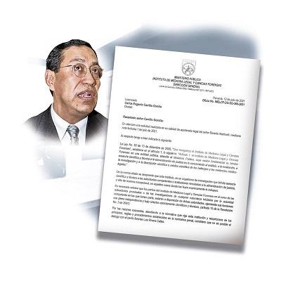 En una nota que lleva la firma de José Vicente Pachar, se le negó a la defensa de Ricardo Martinelli un diálogo con Rivera Calle, aduciendo que esto viola la ley.