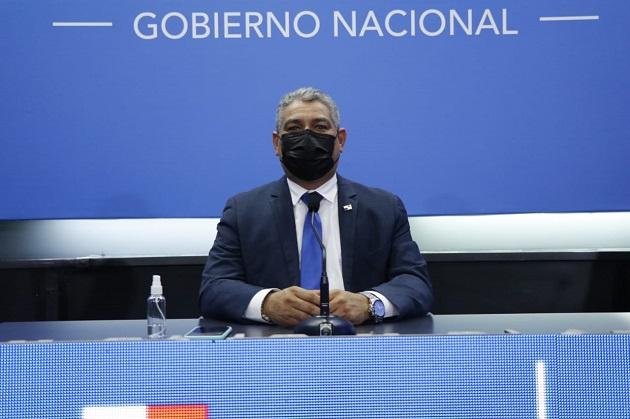 El ministro del Minsa, Luis Francisco Sucre, hizo el anuncio durante su comparecencia semanal emitida en cadena de televisión para todo el país. Foto: Cortesía @LPacoSucre
