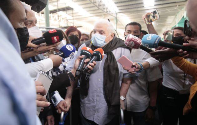 Ricardo Martinelli lidera todas las intenciones de voto para las elecciones de 2024. Foto: Víctor Arosemena