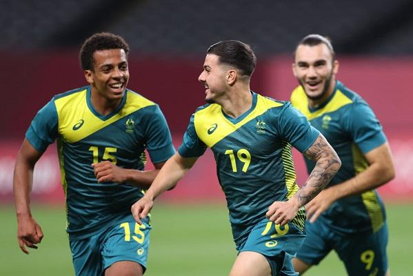 Argentina encajó una inesperada derrota contra Australia. Foto Cortesía: @FootballAUS