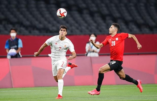 España no logró romper el empate a cero con Egipto. Foto Cortesía: @SeFutbol