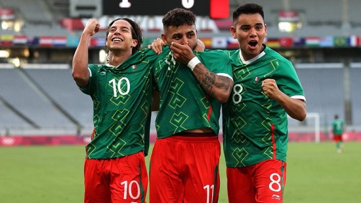 México ganó de forma contundente ante Francia. Foto Cortesía: @miseleccionmx