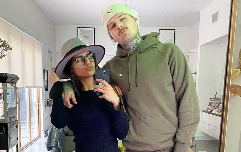 Mia Khalifa y Robert Sanderg. Instagram