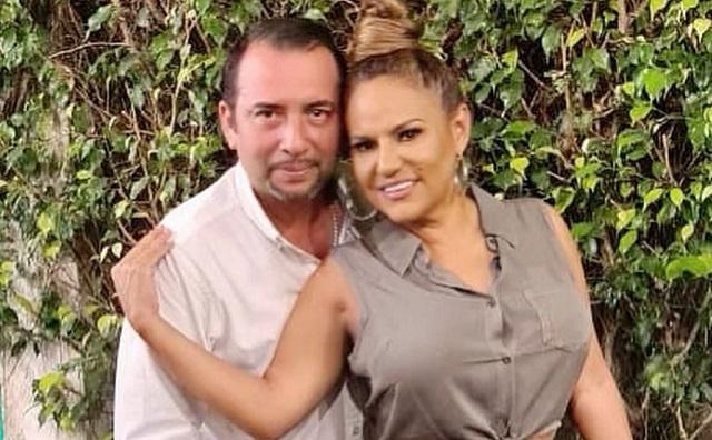 Tavo Flores y Sandra Sandoval. Foto: Instagram