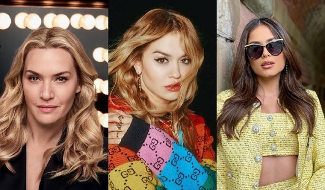 Kate Winslet, Rita Ora y Andrea Meza tienen a sus atletas favoritos. Fotos: Instagram