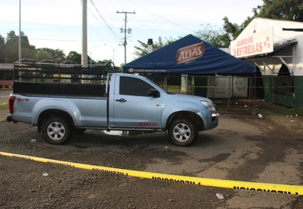 El homicidio ocurrió durante una riña en un evento de pelea de gallos en el distrito de Dolega. Foto: José Vásquez