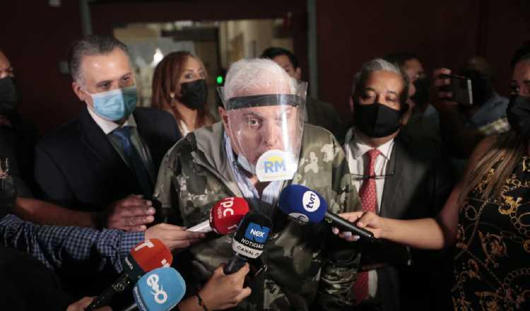 El expresidente Ricardo Martinelli señaló que es una pérdida de tiempo este segundo juicio en su contra. Víctor Arosemena