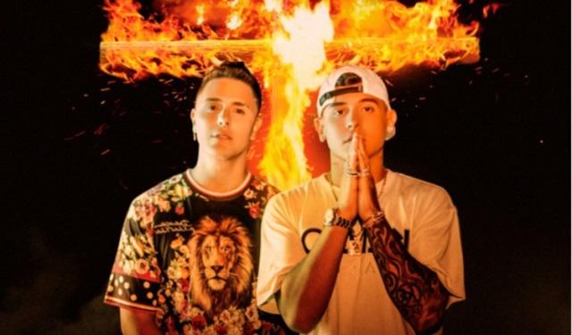 Joey Montana y Kevin Roldan. Foto: Cortesía