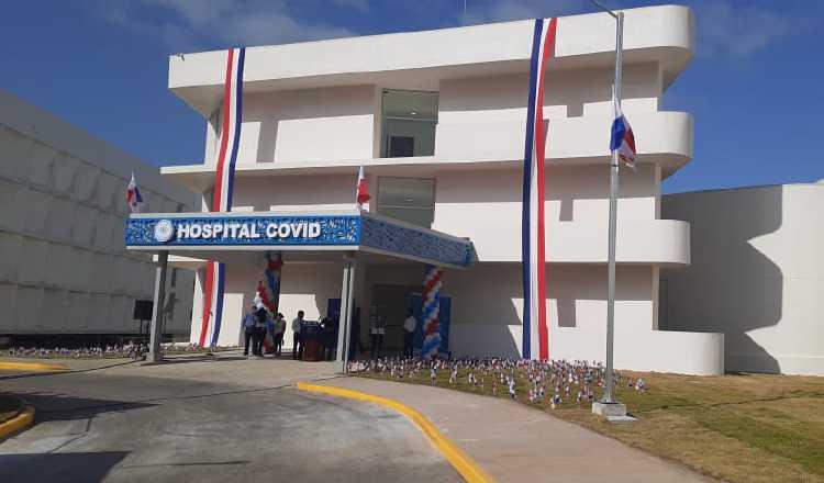 Fueron 27 mil metros cuadrados los que se habilitaron de la Ciudad de la Salud para la atención de pacientes con covid-19. Archivo