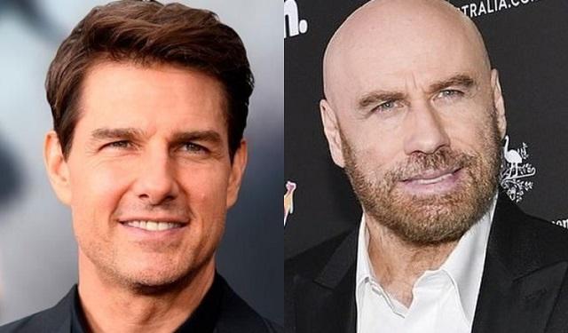 Tom Cruise y John Travolta son miembros de la cienciología. Fotos: Archivo