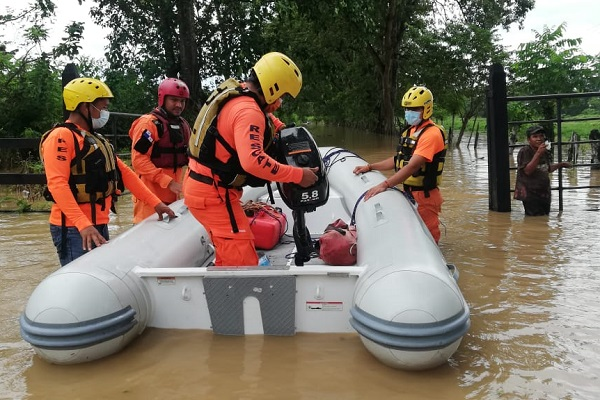 Se reportan 5 mil 435 viviendas afectadas. Foto: Sinaproc
