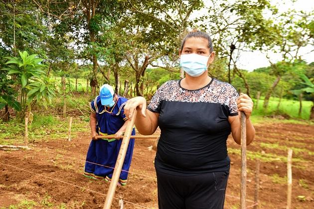 """Jeny Jaramillo, de 47 años de edad, es la presidenta de la """"Granja Las Delicias"""