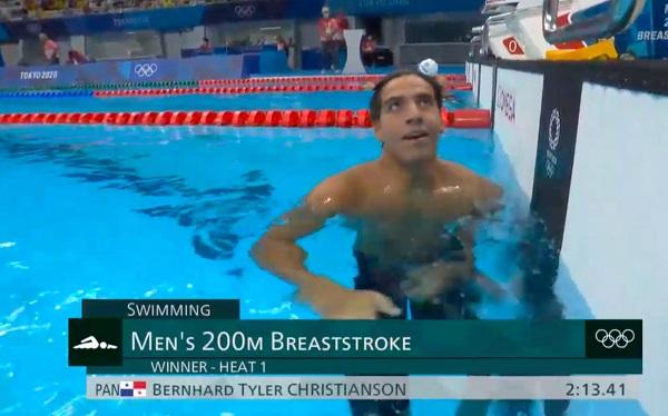 Tyler Christianson. Foto: Cortesía Comité Olímpico de Panamá
