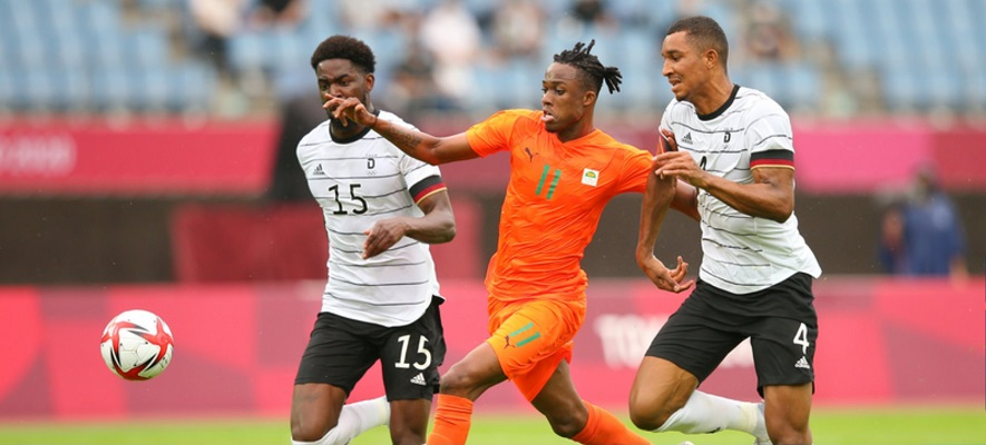 Alemania se quedó fuera de los Juegos Olímpicos después de que solo pudo lograr un empate con Costa de Marfil. Foto Cortesía: @FIFAcom