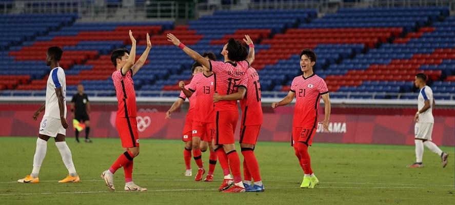 Corea del Sur logró un 6-0 definitivo con el que los asiáticos llegaron a la cima del grupo B. Foto Cortesía: @FIFAcom