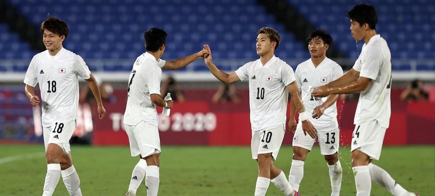 Japón le dio una humillante derrota a una decepcionante Francia por 4-0. Foto Cortesía: @FIFAcom