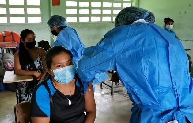 Panamá trata de acelerar su proceso de vacunación. Foto: Cortesía Minsa