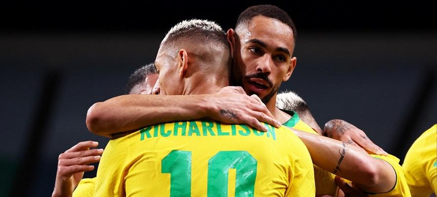 Brasil venció por la mínima (1-0) a la selección de Egipto. Foto Cortesía: @FIFAcom