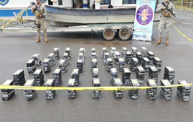 En lo que va del año se han ejecutado un total de 86 operaciones logrando incautar más de 42,374 paquetes de sustancias ilícitas. Foto: Cortesía Senan