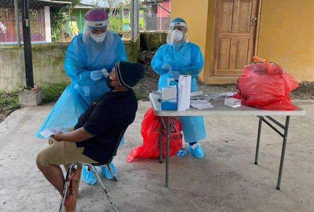 En las últimas 24 horas se aplicaron 10,805 pruebas nuevas para detectar la covid-19 en Panamá. Foto: Cortesía Minsa