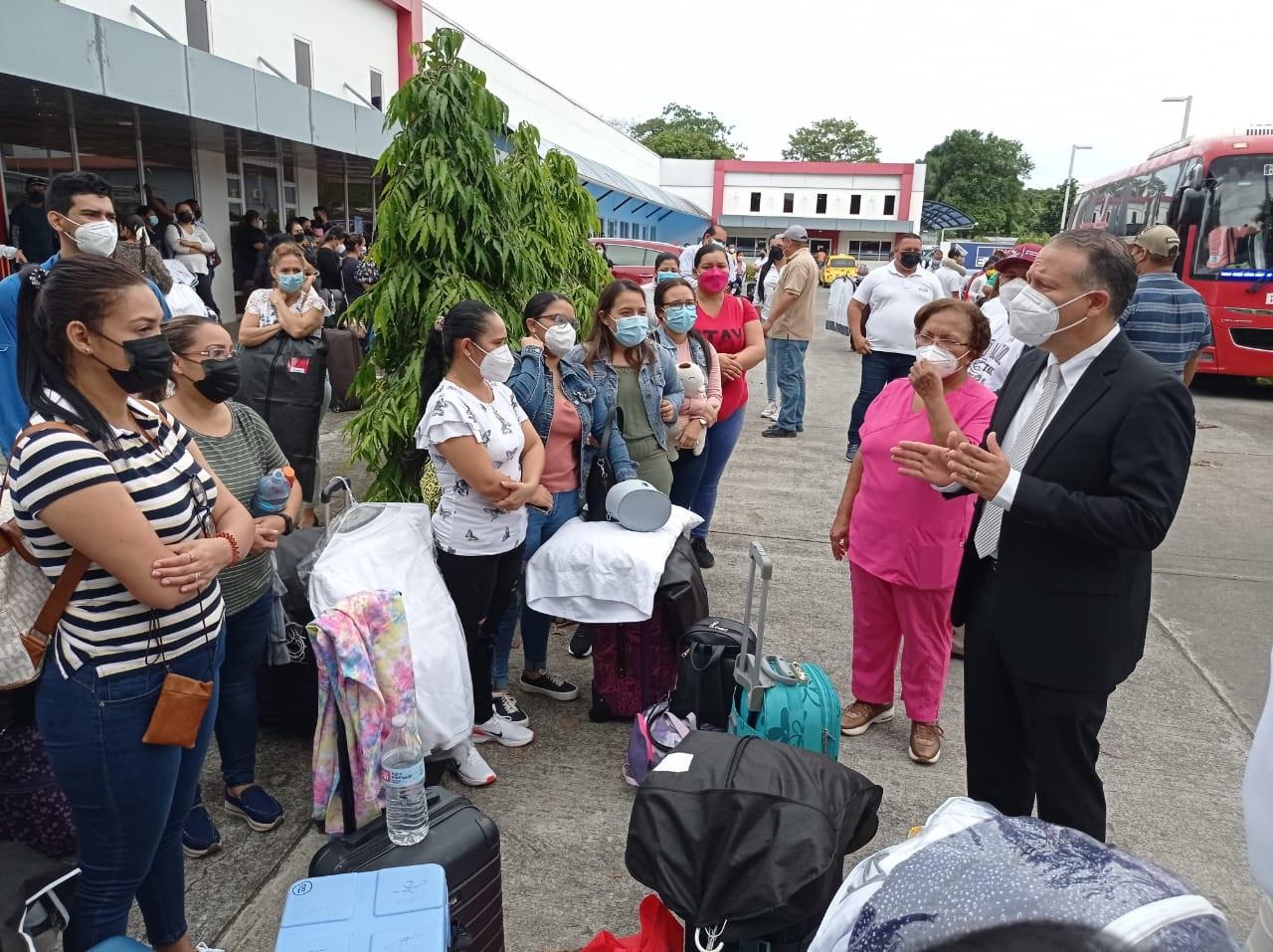 El personal será de apoyo para lograr la cobertura programada en Bocas. Foto: José Vásquez