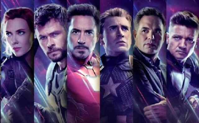 Scarlett Johansson, Chris Hemsworth, Robert Downey Jr., Chris Evans, Mark Ruffalo y Jeremy Renner. Foto: Internet