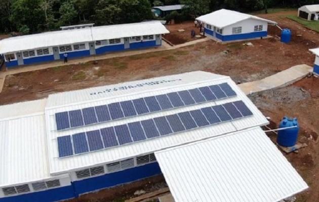 Más de 4 mil alumnos en la comarca Ngäbe Buglé se beneficiarán con nuevas estructuras escolares. Foto: Cortesía Meduca