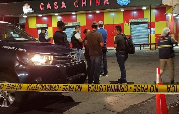 Se conoció que la noche de este domingo dado el hecho de sangre se registró una balacera en el sector de Pedregal. Foto: Mayra Madrid