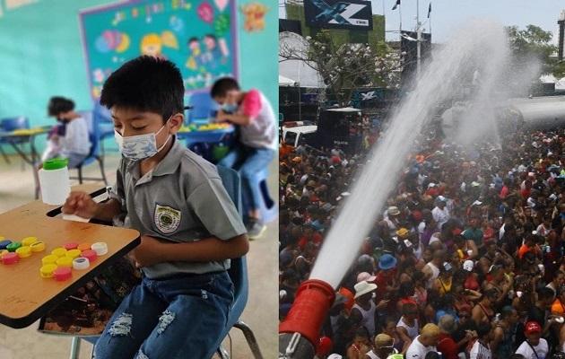 En Panamá, la educación se imparte mayormente a distancia en la actualidad. Foto: Grupo Epasa y Cortesía Meduca