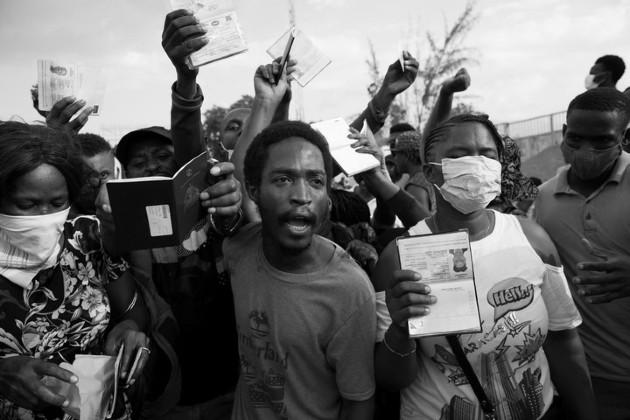 Haití es un país que ha sido postrado, condenado a la miseria y el atraso por las rivalidades de sus élites que han controlado el poder político y económico. Foto: EFE.