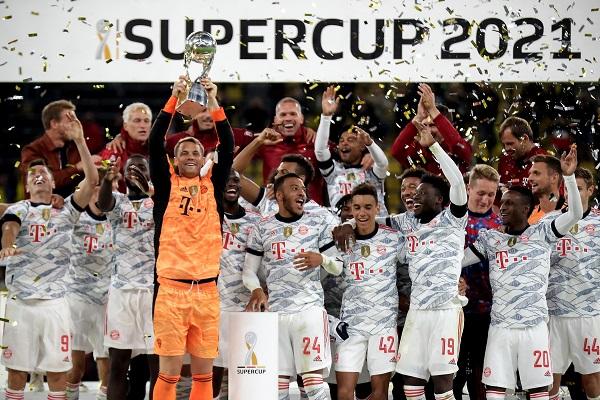 Bayern de Múnich levanta su novena Supercopa de Alemania. Foto: EFE