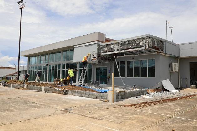 El Aeropuerto Internacional Panamá Pacífico está ubicado en la antigua base de Howard.