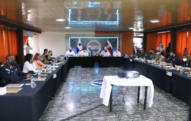 Reunión entre Panamá y Costa Rica sobre temas fronterizo y migratorio. Foto. Mayra Madrid