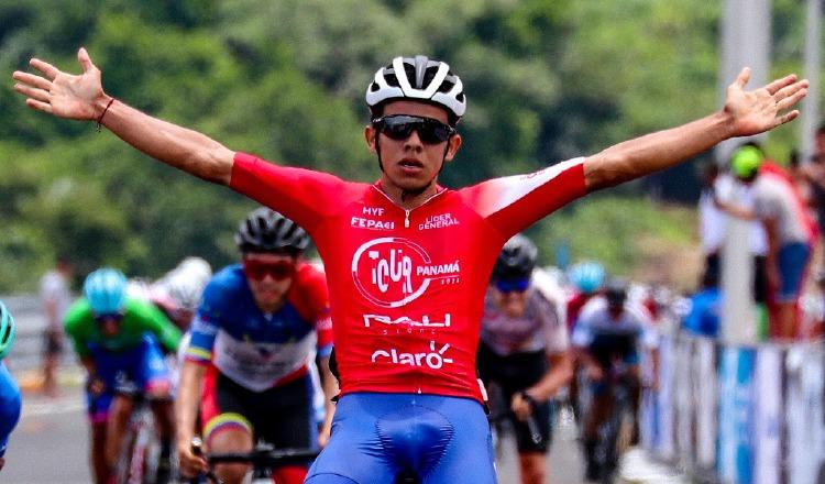 El ciclista panameño Franklin Archibold ha dado una auténtica exhibición en el Tour de Panamá. Foto: Cortesía Fepaci