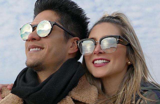 Chyno Miranda y Natasha Araos. Foto: Archivo