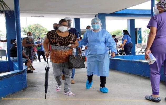 Panamá continúa con la jornada de vacunación contra la covid-19. Foto: Grupo Epasa