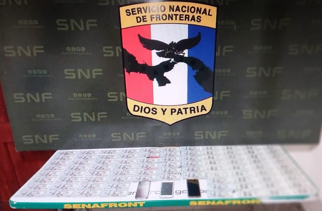 El dinero de dudosa procedencia quedó a órdenes de la Fiscalía de Drogas del Ministerio Público. Foto: Mayra Madrid